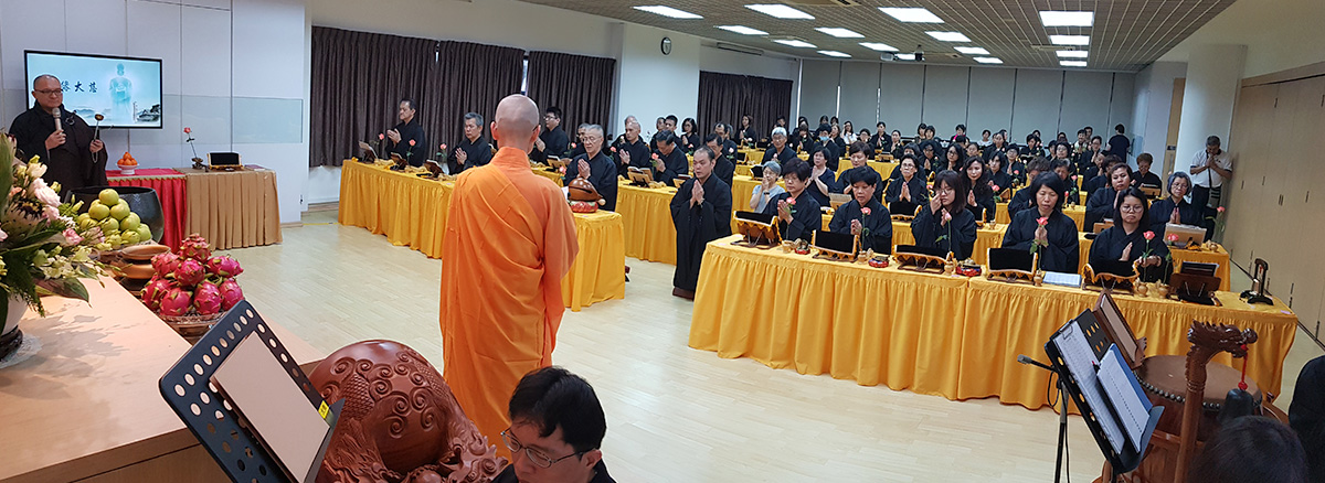 Experiencing The DaBeiChan Chanting Event (大悲忏法会)